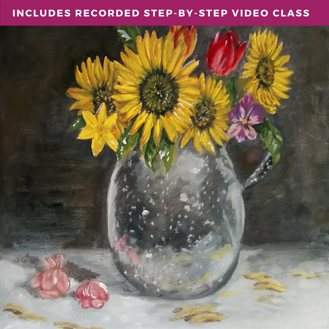 Springtime Ode to Van Gogh by Drake Wolfe including recorded step-by-step video class
