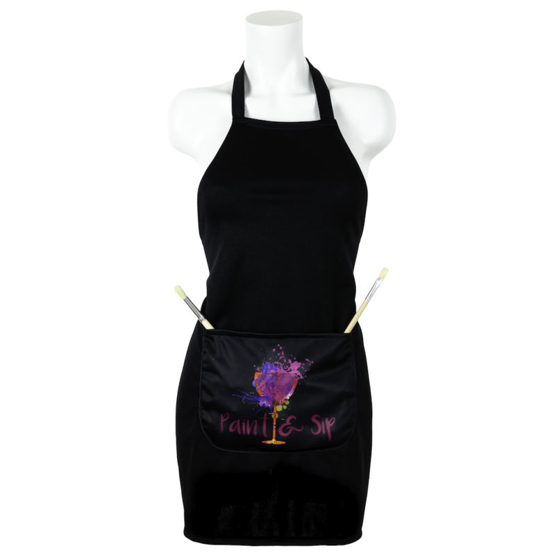 Paint & Sip Branded Apron