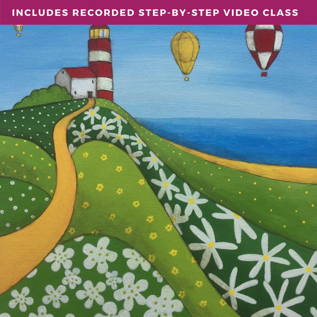 Oh I Do Like To Be Beside The Seaside by Tuesday Houston including recorded step-by-step video class