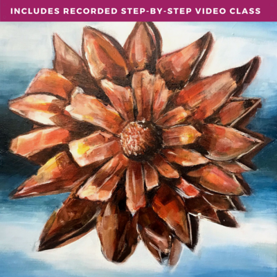 """""""Rebirth"""" by Marti Lund including recorded step-by-step video class"""