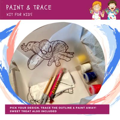 KIDDIES Trace & Paint