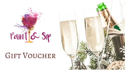 Paint & Sip Voucher | The gift of an amazingly creative and joyful kit