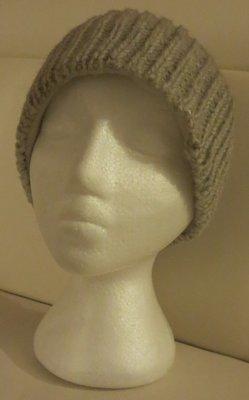 Woolen winter toque- Grey