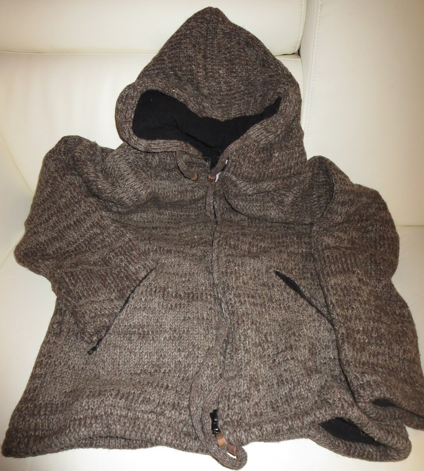 Woolen Jacket - Natural Brown Clearance