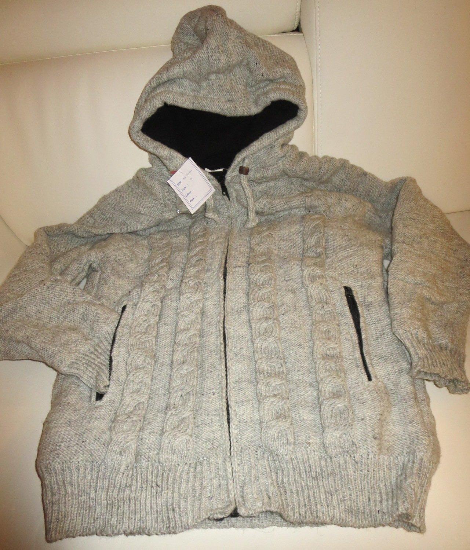 Woolen Jacket - Gray Clearance