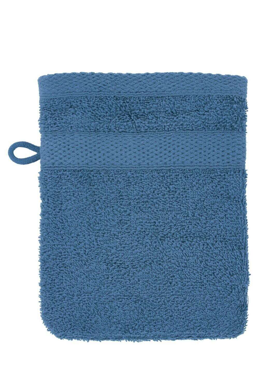 Washandje 15x21 cm Blauw - set van 2