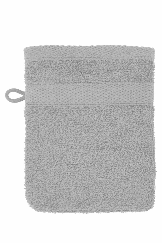 Washandje 15x21 cm Cool Grey - set van 2