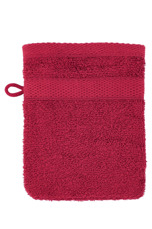 Washandje 15x21 cm Red - set van 2