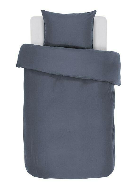 Dekbedovertrek Iris Stone Blue 140cm x 200cm