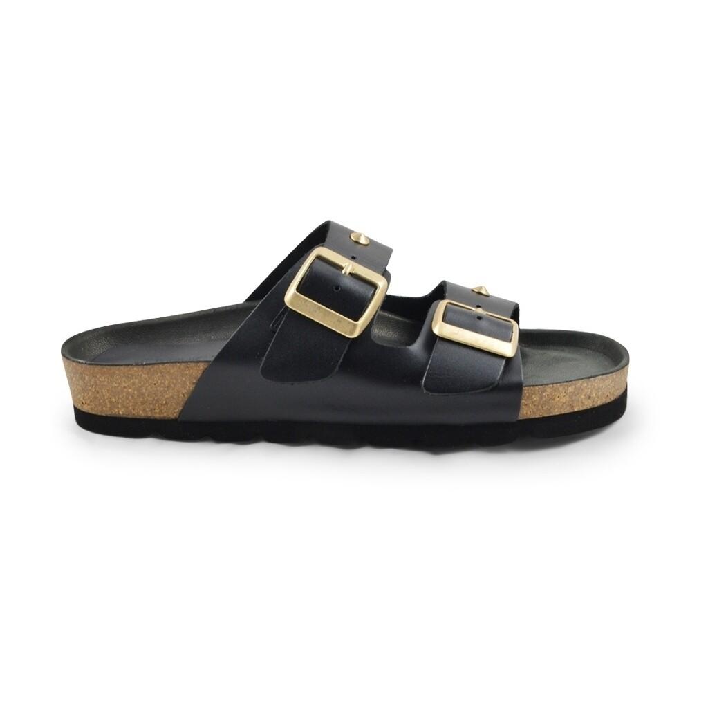 Frida studs sandal Black Amust
