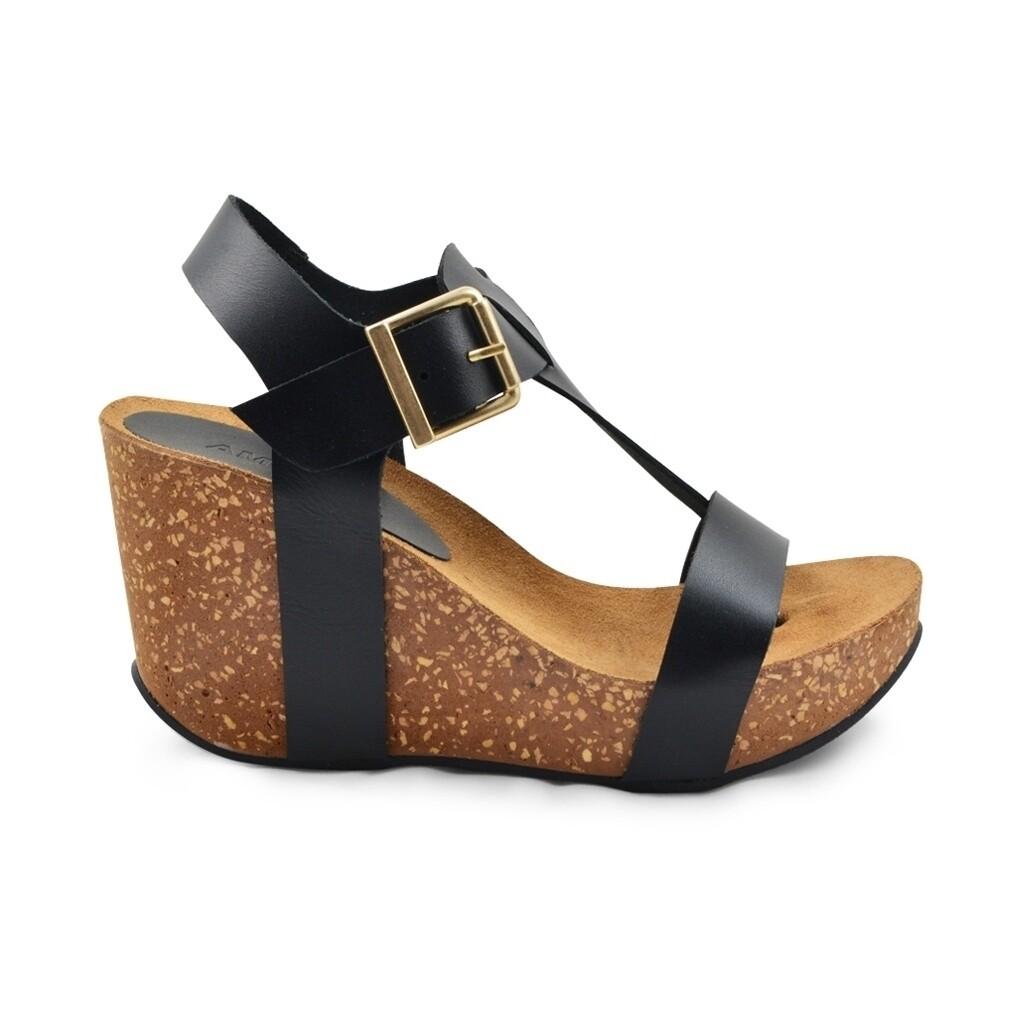 Ane high wedge cork sandal Amust
