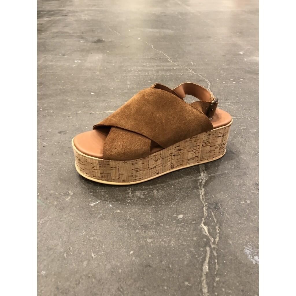 Sea sandal cognac copenhagen shoes