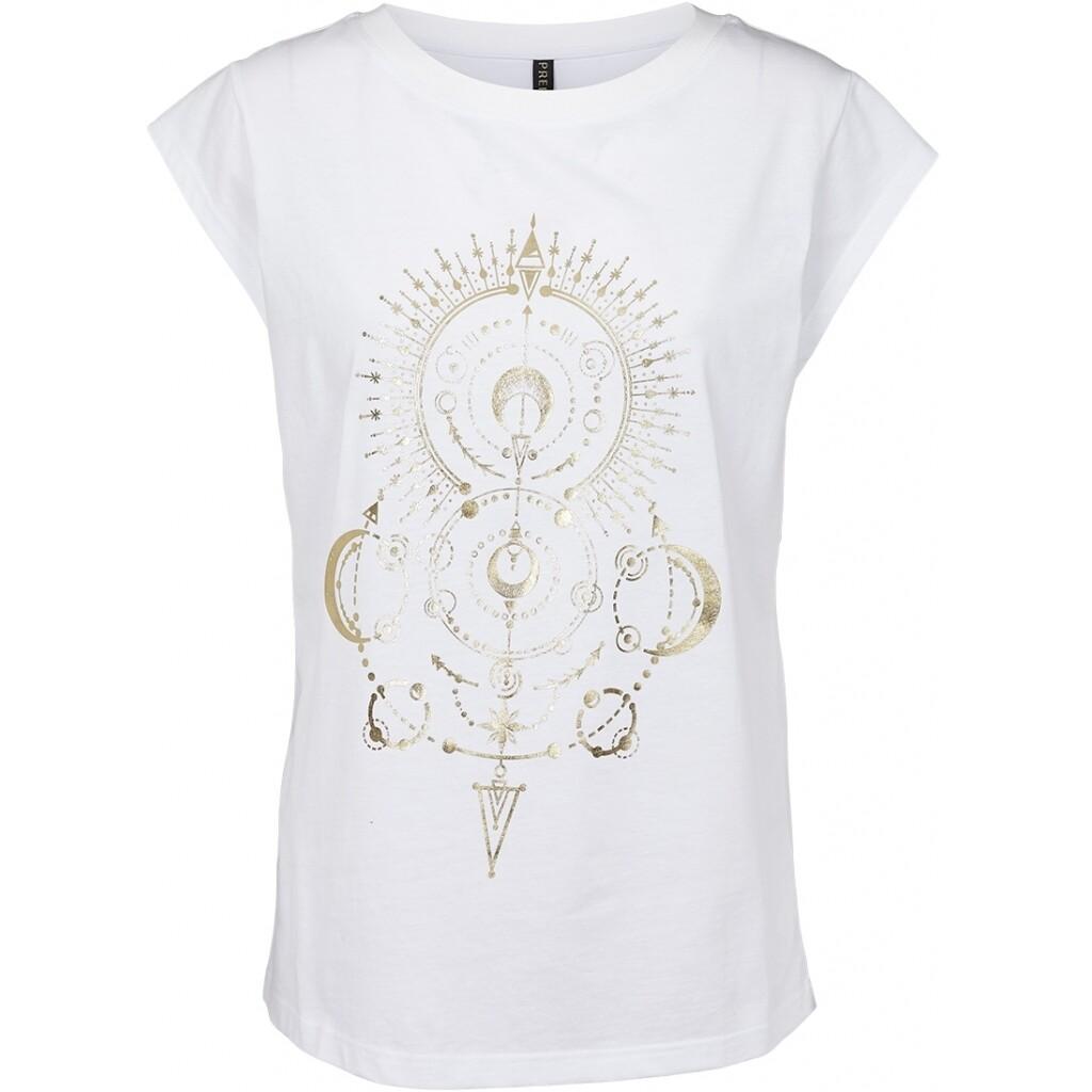 Silke T-shirt  white Prepair