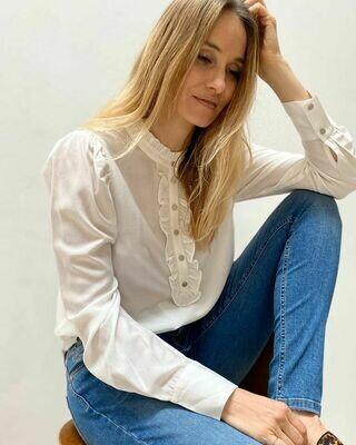 skjorte hvid Freequent