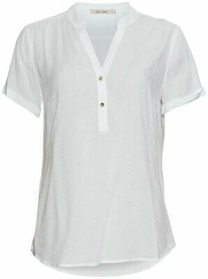 New doodle blouse white Rue de Femme