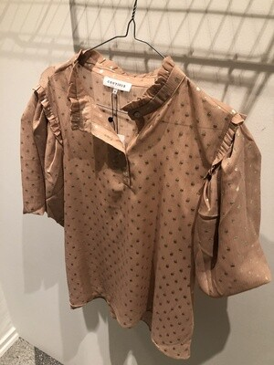 Lotus gold blouse Continue