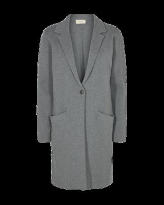 Aidy jacket Grey melange Freequent