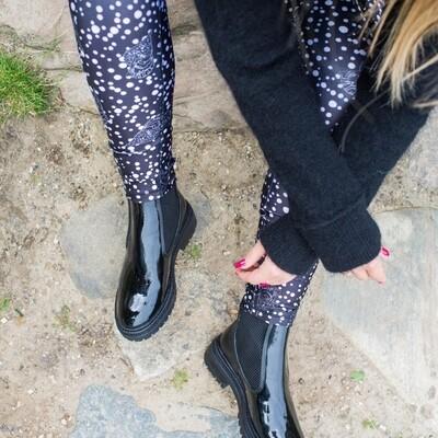 Fall patent Copenhagen shoes