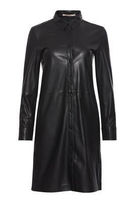 Lianne leather shirtdress Rue de femme