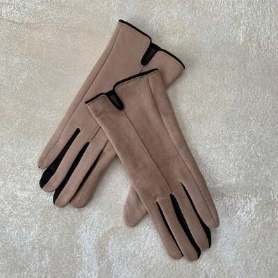 Handske taupe ThreeM