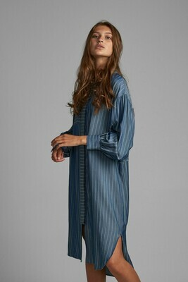 NUBARDOU DRESS Light Blue Denim Nümph