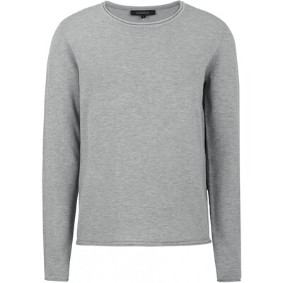 SRMarla o-neck knit roll Edge light grey Soft rebels