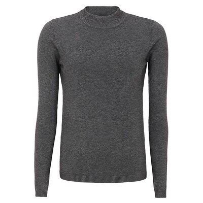 SRMarla Turtleneck Antrazit grey melange Soft rebels