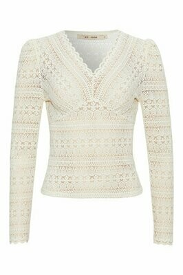 Christel blouse off white Rue de femme