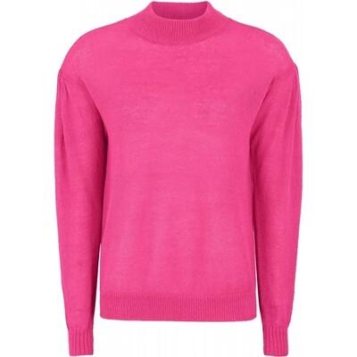 SRHolly knit jumper pink Peacock Soft rebels