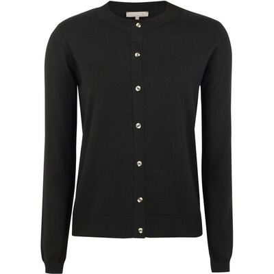SRMarla new O-neck cardigan black Soft rebels