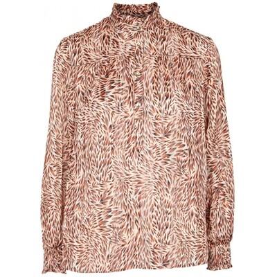 Erika blouse rust Prepair