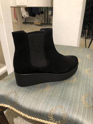 Støvle med plateau Black Amust