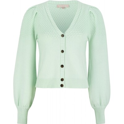 SRPeach green Cardigan Soft rebels