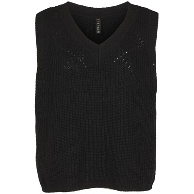 Lusinda Black Vest Prepair