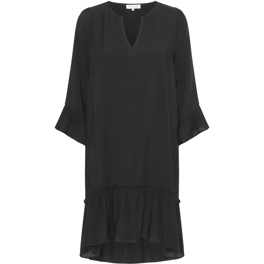 Thyra black short dress Continue