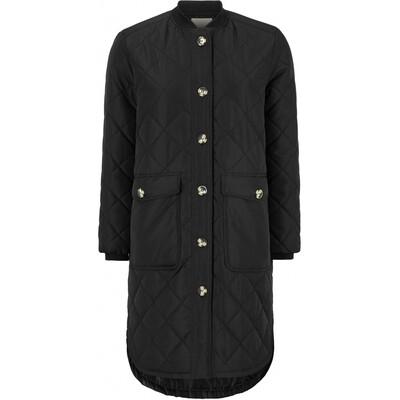 SREileen LS quilt coat black Soft rebels