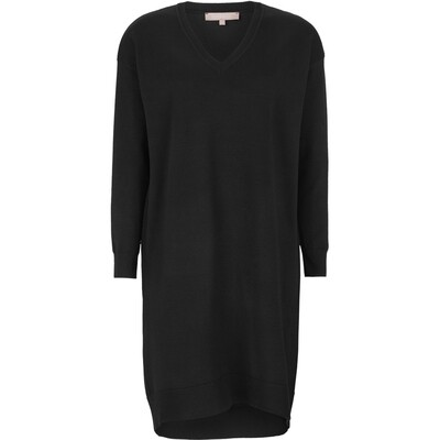 SRLea dress knit black soft rebels