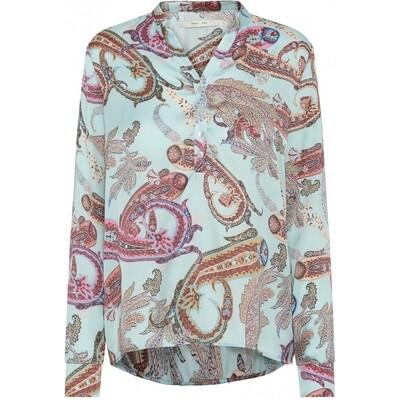 Spot Alexia shirt Turkis paisley Costamani