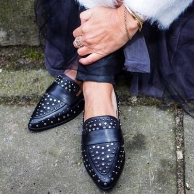 Molly shoes black leather Copenhagen shoes