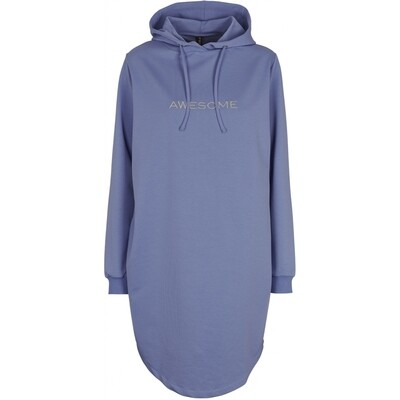 Malle sweat hoodie dress blue Prepair