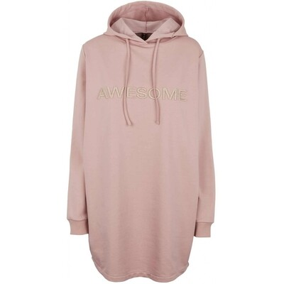 Malle dress Hoodie rosa Prepair