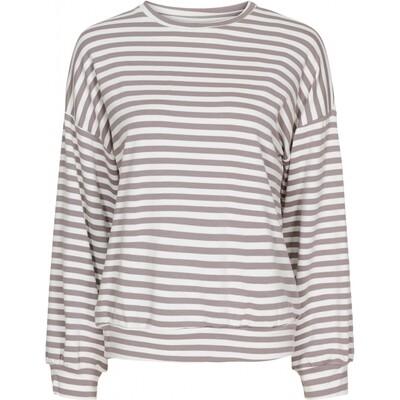 Sweatshirt Taupe ThreeM