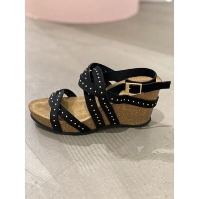 Pleasure sandal black Copenhagen shoes
