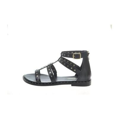 Travel sandal black Copenhagen shoes