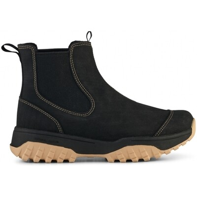 Magda Rubber Track boot black contrast Woden