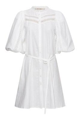 Octavia dress white Rue de Femme