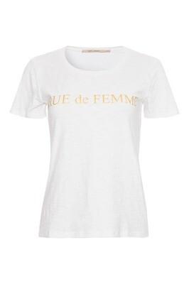 Tessie Tee white Rue de Femme
