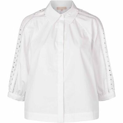 SRPricilla 3/4 shirt White Soft rebels