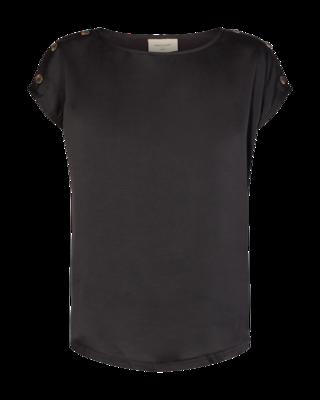 FQLotte T shirt Black Freequent