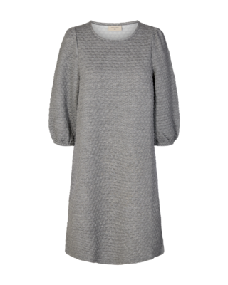 FQbobble dress grey Freequent